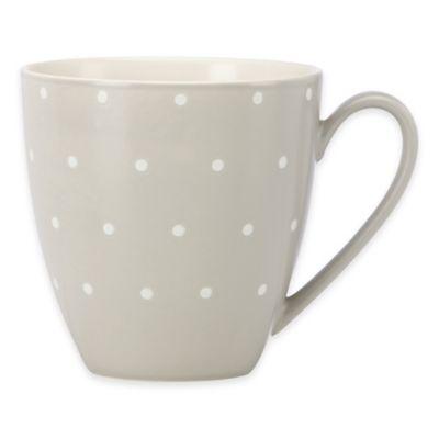 kate spade new york Larabee Dot Grey Mug
