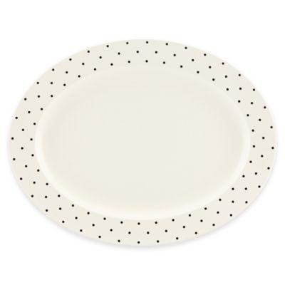 Cream White Oval Platter