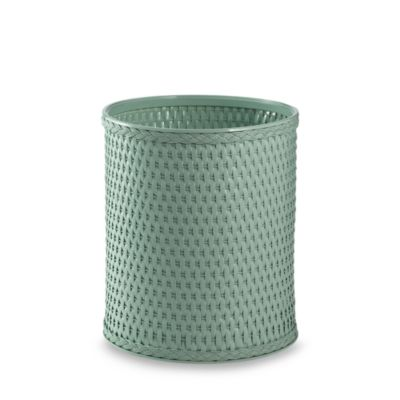 Herbal Green Chelsea Wastebasket by W.C. Redmon