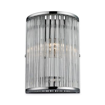 ELK Lighting Braxton 1-Light Wall Sconce in Polished Chrome