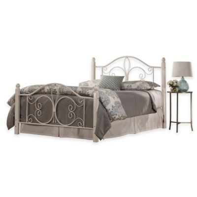 Hillsdale Ruby Twin Bed Set with Rails