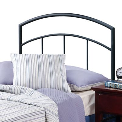 Hillsdale Julien Twin Bed Dual Panel Grill in Black Metal