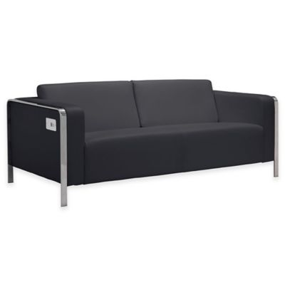 Zuo® Thor Sofa in Black