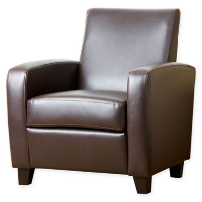 Abbyson Living® Mercer Club Chair in Brown