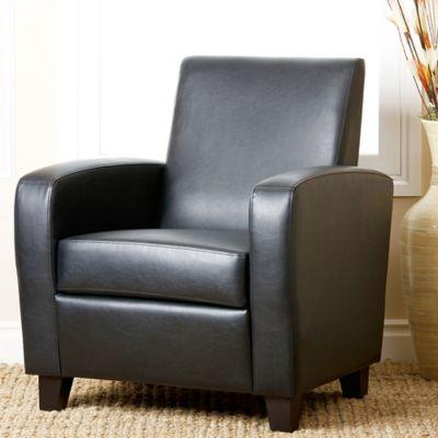 Abbyson Living® Mercer Club Chair in Black