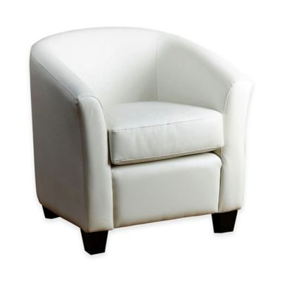Abbyson Living® Tanner Arm Chair in Ivory