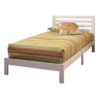 Hillsdale Aiden Twin Platform Bed in White