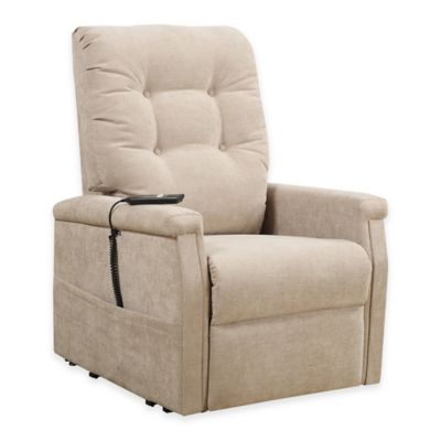 Pulaski Montreal Power Lift Chair in Beige