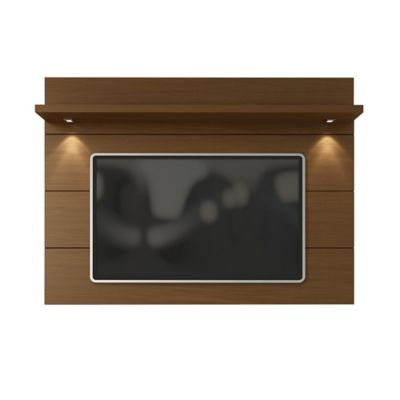 Manhattan Comfort Cabrini 1.8 TV Panel in Nut Brown