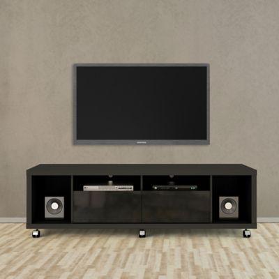 Manhattan Comfort Cabrini TV Stand 1.8 in Black