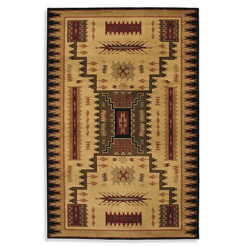 Shaw Living 174 Accents Collection Storm Room Size Rug Bed