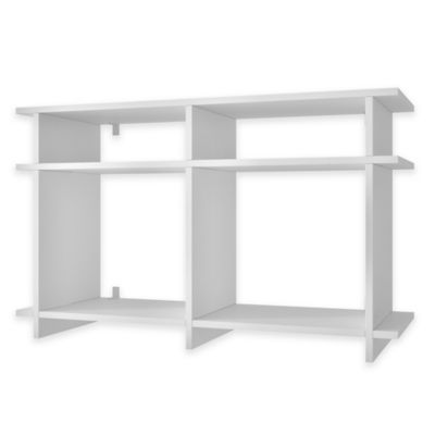 Manhattan Comfort Wellington TV Stand in Tobacco