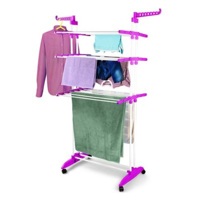 Bonita Maximo Multifunctional Clothes Drying Station in Pink