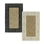 Horizon Block Border Accent Rugs