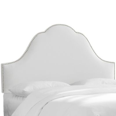 Skyline Furniture Congress Twin Headboard in Premier Chocolate
