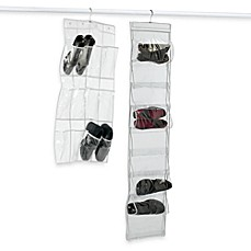 Crystal Clear Vinyl Shoe Storage