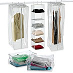 Crystal Clear Vinyl Clothing Storage