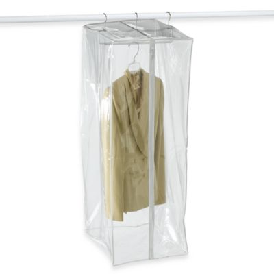 Crystal Clear Vinyl Suit Closetwith Maxi-Rack