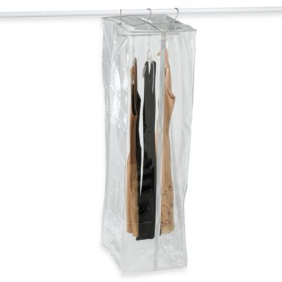 Crystal Clear Vinyl Garment Closetwith Maxi-Rack