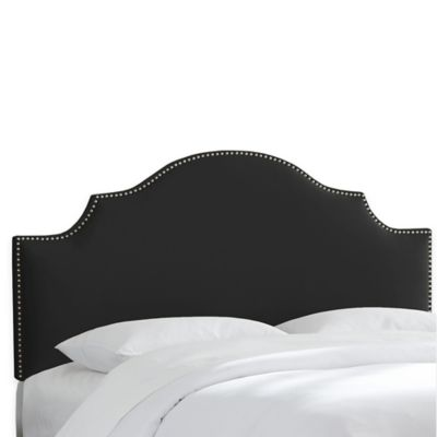 Skyline Furniture Sheffield King Headboard in Premier Oatmeal