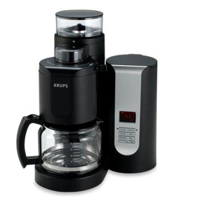 Coffee Makers Sold At Bed Bath And Beyond : Buy Krups Duo Filter 10-Cup Pro Grinder-Brewer Coffee Maker from Bed Bath & Beyond