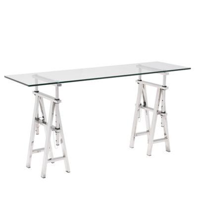 Zuo® Lado Console Table in Chrome