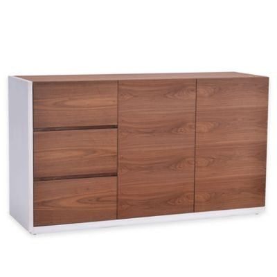 Zuo® Saints Buffet in Walnut/White
