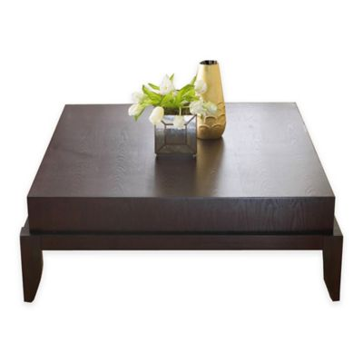 Abbyson Living® Adams Morgan Square Coffee Table in Espresso