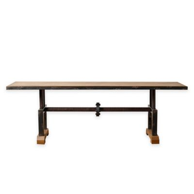 Abbyson Living® Bixel Industrial Coffee Table in Beige