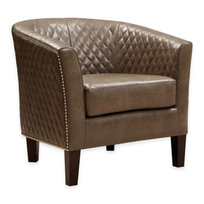 Pulaski Eldorado Mink Dining Chair in Brown