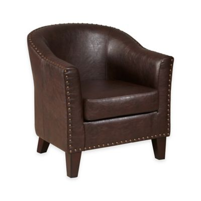 Pulaski Burton Upholstered Accent Chair in Brown