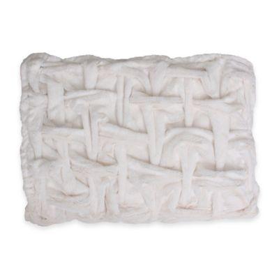 Faux White Fur Bedding