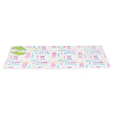 Bonita Alpha Text Ironing Mat