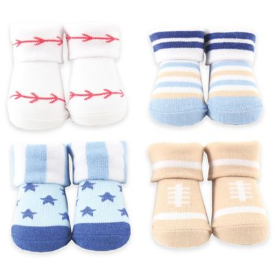 BabyVision® Luvable Friends® Sports Novelty Socks Gift Set