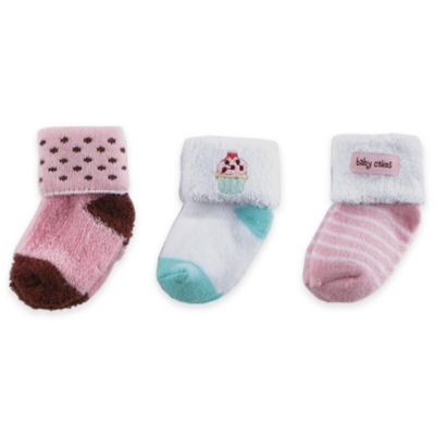 Pink Terry Socks