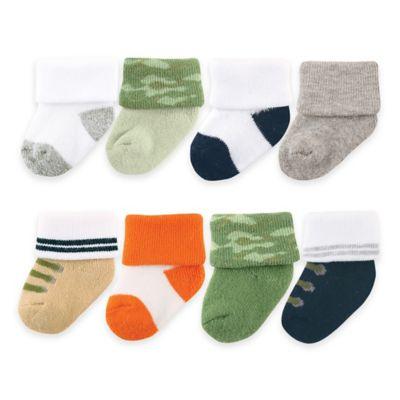 Green Newborn Socks