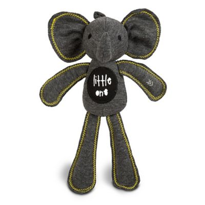AMY COE by North American Bear Co. 8-Inch Sampson Jersey Elephant Squeaker