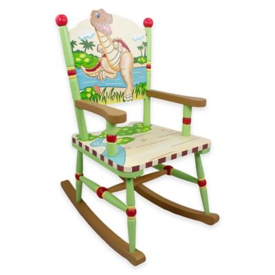 Teamson Fantasy Fields Dinosaur Kingdom Kids Rocking Chair