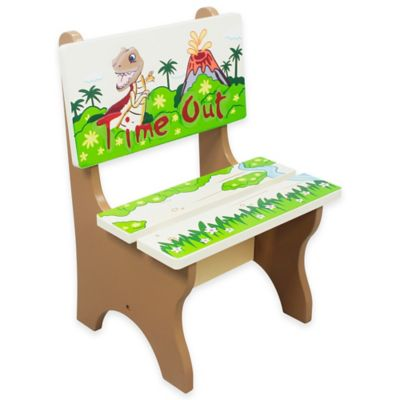 Teamson Fantasy Fields Dinosaur Kingdom Kids Time Out Chair
