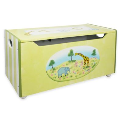 Teamson Fantasy Fields Alphabet Toy Storage Box