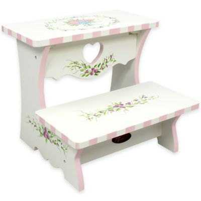 Teamson Fantasy Fields Bouquet Kids Step Stool