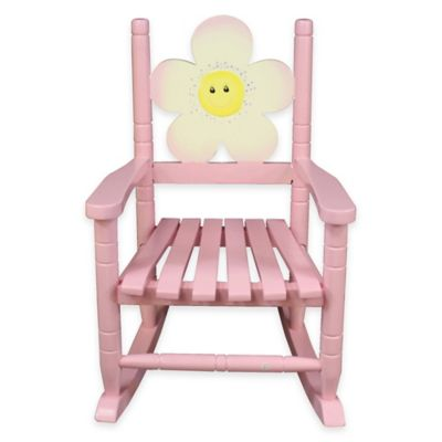 Teamson Flower Rocking Chair