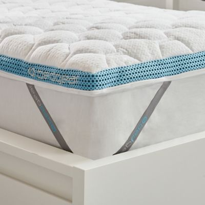 Bedgear® Fusion React® Performance Twin/Twin XL Mattress Topper in White