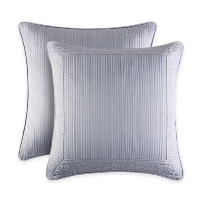 J. Queen New York™ Wilmington European Pillow Sham in Chrome