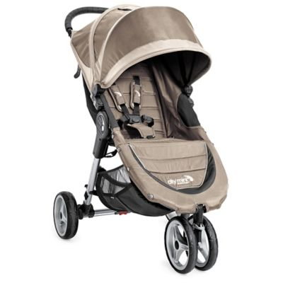 Baby Jogger® City Mini® 3-Wheel Single Stroller in Sand/Stone