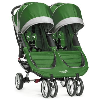 Strollers > Baby Jogger® City Mini® Double Stroller in Evergreen/Grey