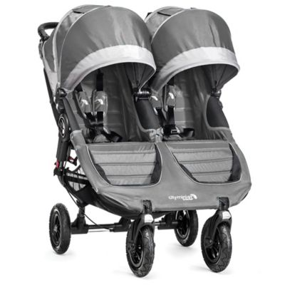 Strollers > Baby Jogger® City Mini® GT Double Stroller in Steel Grey