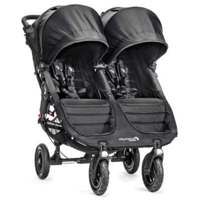 Strollers > Baby Jogger® City Mini® GT Double Stroller in Black/Black