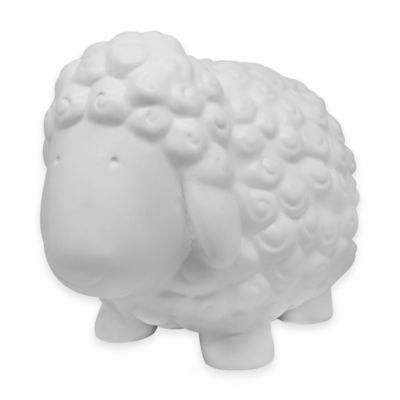 Argento Ceramic Sheep Bank in White