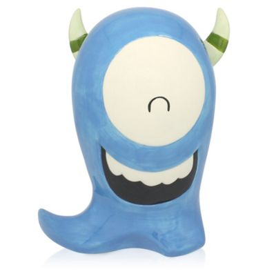Argento Ceramic Scary Friend Bank in Blue